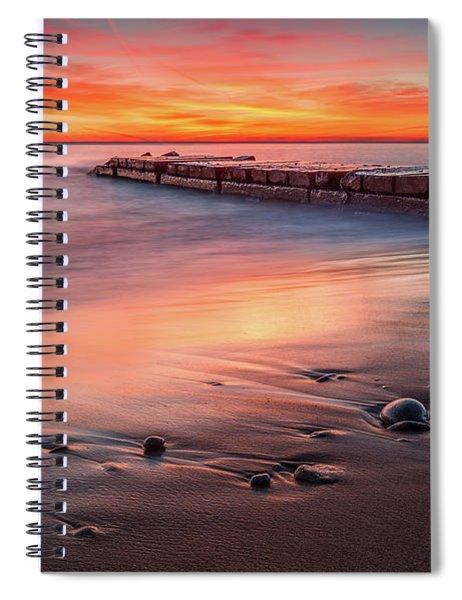 Sheridan Sunrise Spiral Notebook