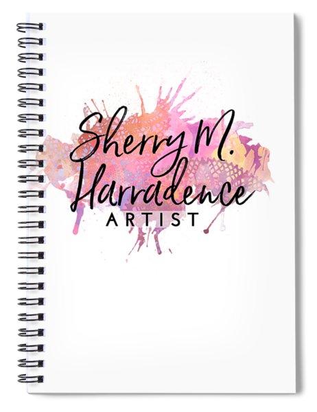 Sherry Harradence Artist Spiral Notebook