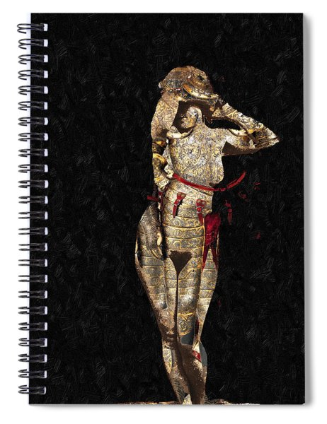 She's Made Of Armor Spiral Notebook