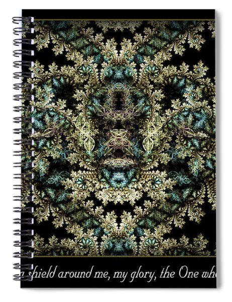Shield Around Me Spiral Notebook