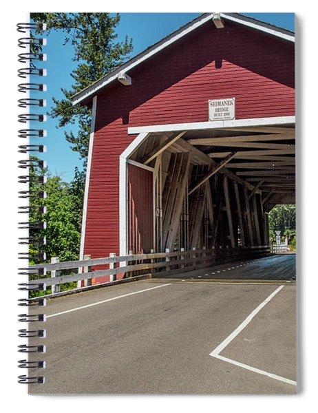 Shimanek Covered Bridge Spiral Notebook