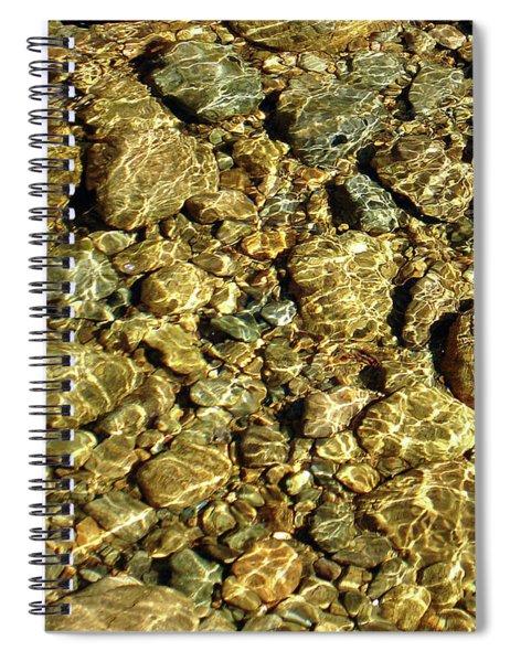 Shimmer Stream Spiral Notebook