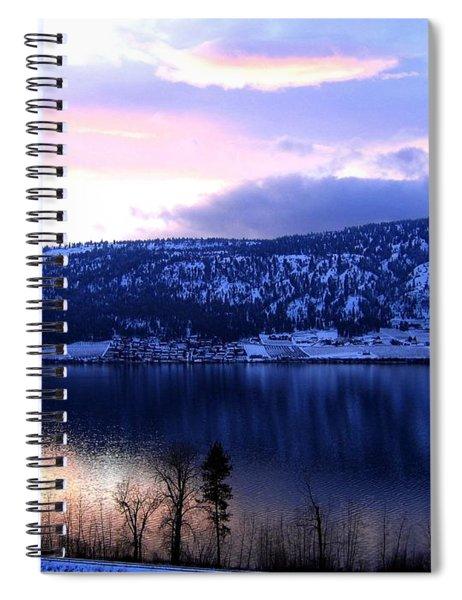 Shimmering Wood Lake Spiral Notebook