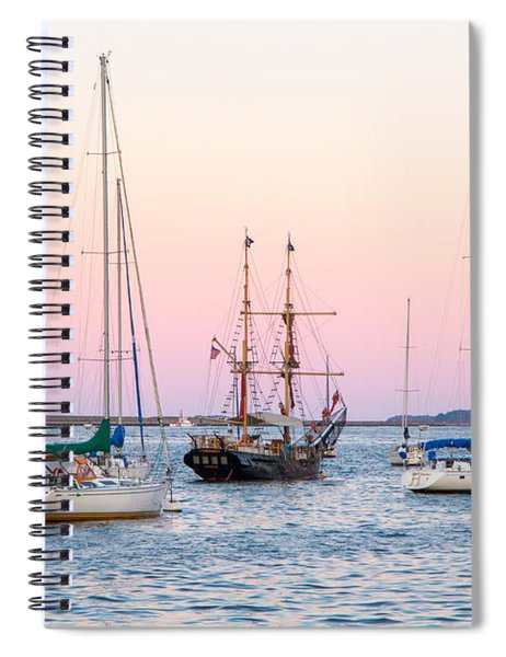 Ship Out Of Time Spiral Notebook