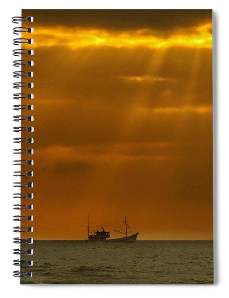 Ship Rest Spiral Notebook