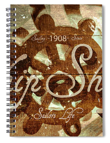 Ship Shape 1908 Spiral Notebook
