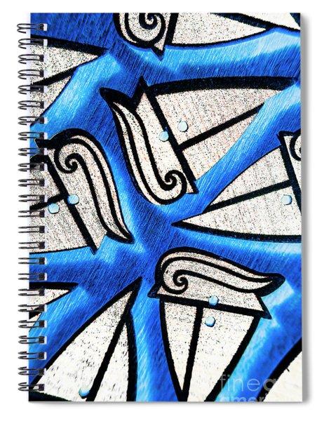 Ship Shape Sails Spiral Notebook