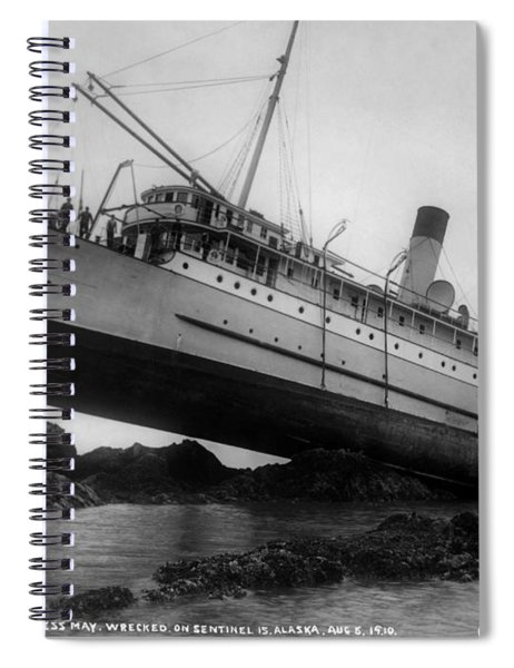 Shipwreck - Ss Princess May - August 5, 1910 Spiral Notebook