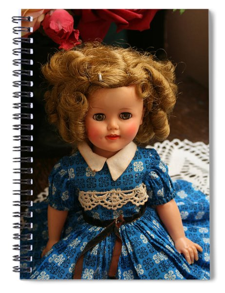 Shirley Temple Spiral Notebook