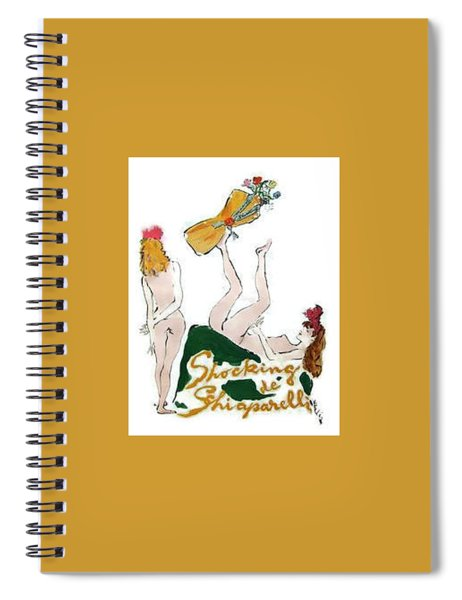 Shocked Not Spiral Notebook by ReInVintaged