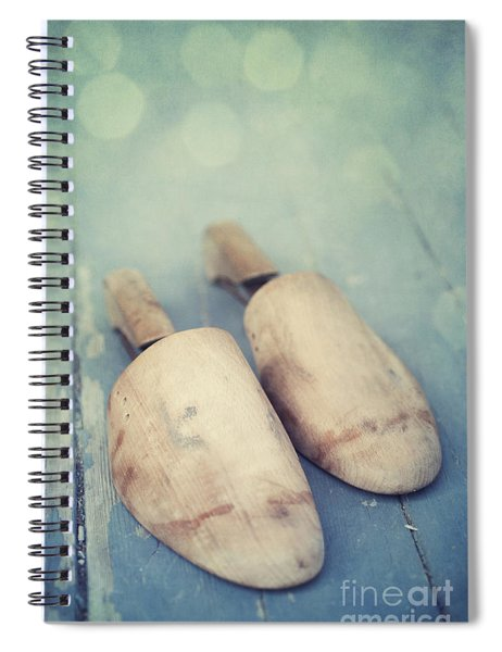 Shoe Trees Spiral Notebook