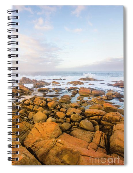 Shore Calm Morning Spiral Notebook
