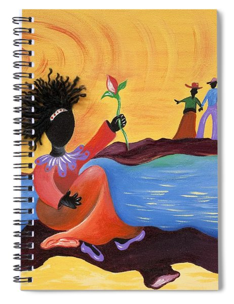 Shore Love Spiral Notebook