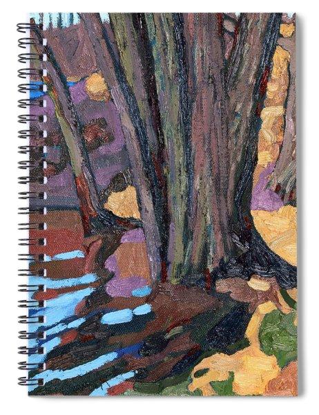 Shoreline Maples Spiral Notebook