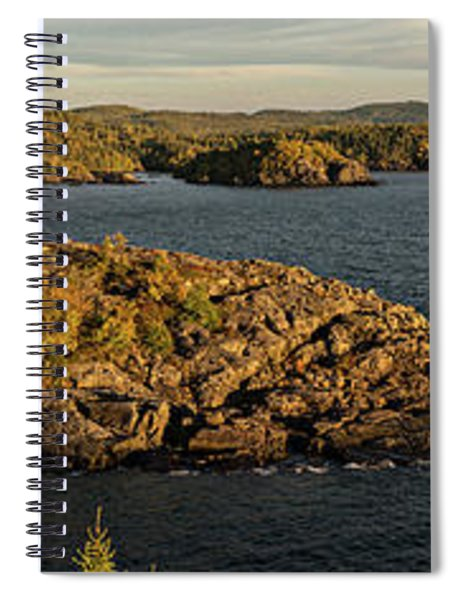 Shores Of Pukaskwa Spiral Notebook