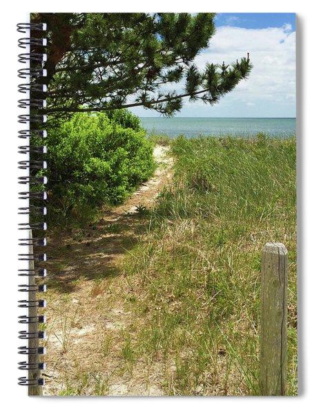Shoreside Serenity Spiral Notebook