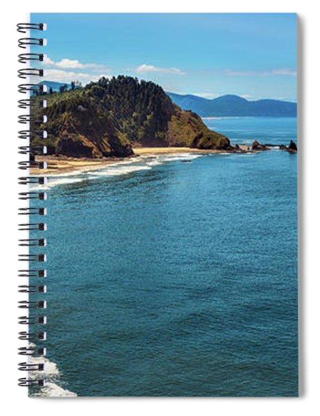 Short Beach, Oregon Spiral Notebook