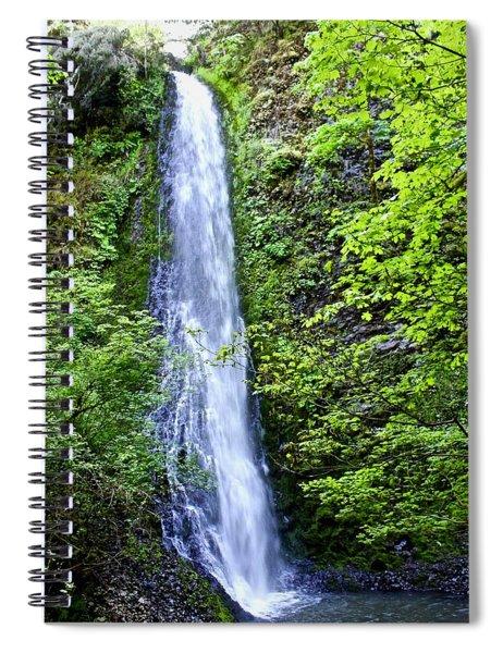 Shot Gun Falls Spiral Notebook
