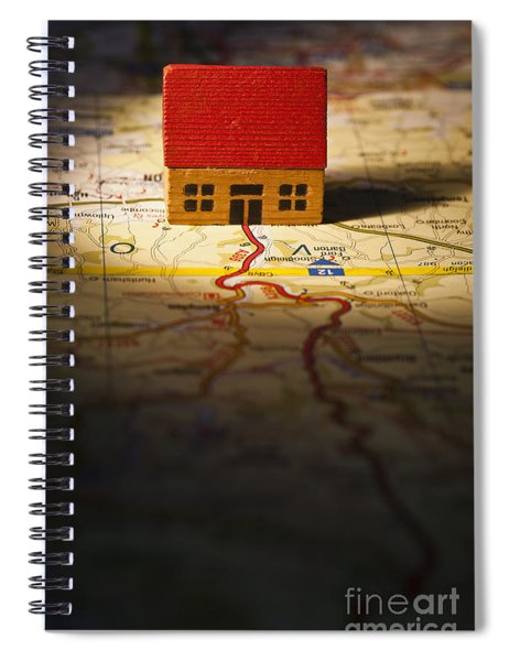 Show Me The Way To Go Home Spiral Notebook