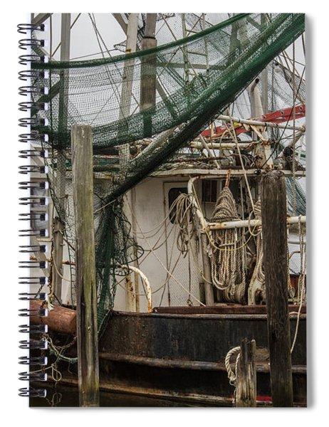 Shrimp Boat Alabama  Spiral Notebook
