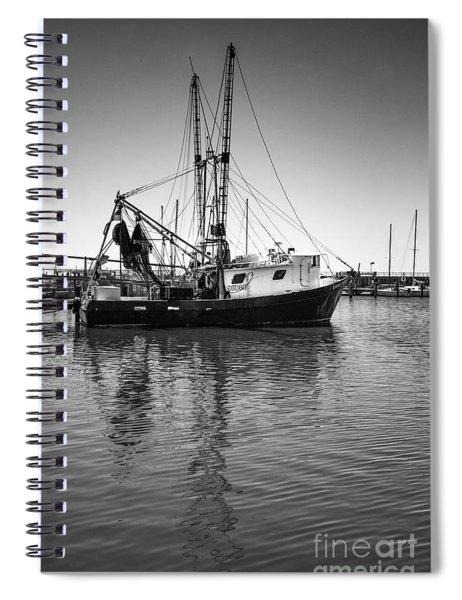 Shrimp Boat Spiral Notebook
