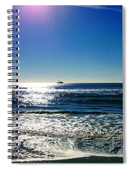Shrimp Season Spiral Notebook