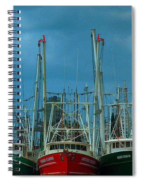 Shrimpers Spiral Notebook