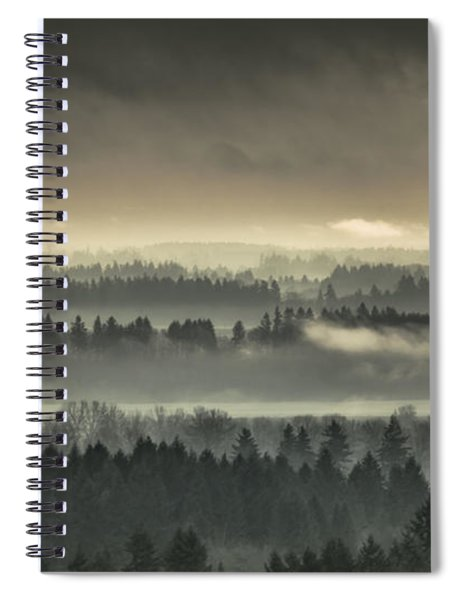 Shrouded Valley Spiral Notebook