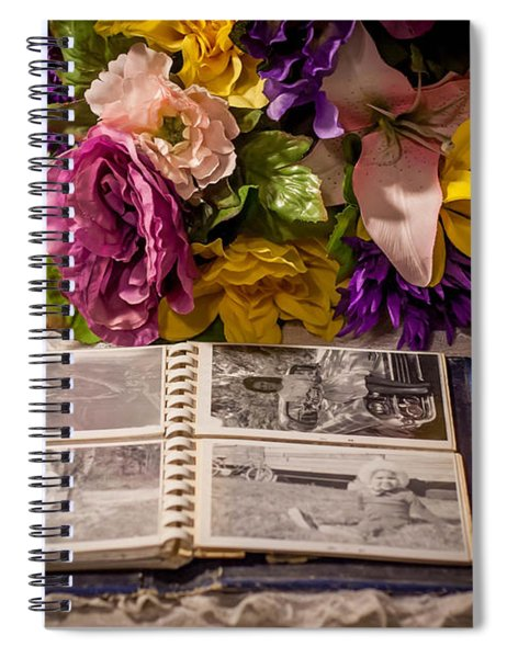 Shur Shot From The Past In Color Spiral Notebook