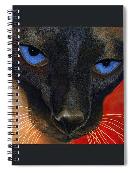 Siamese Spiral Notebook