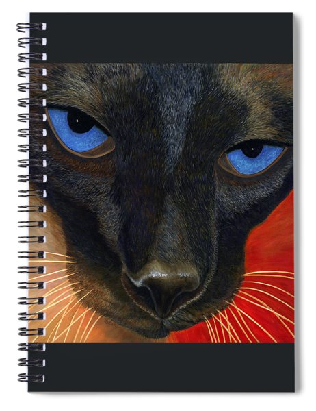 Siamese Spiral Notebook by Karen Zuk Rosenblatt