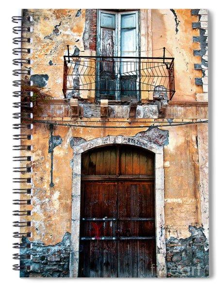 Sicilian Facade Spiral Notebook