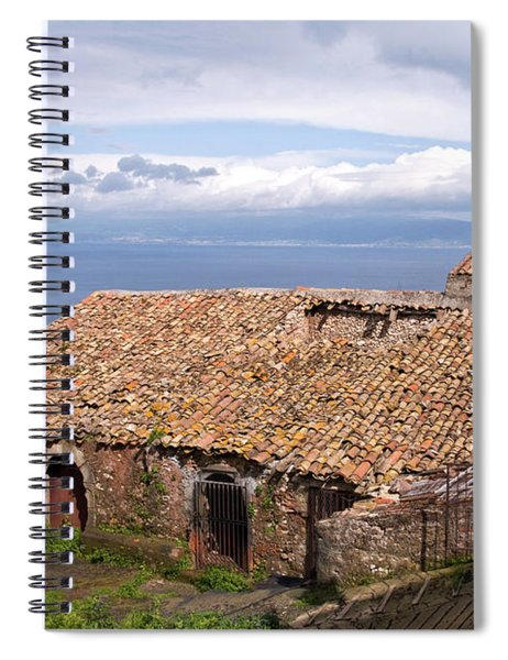 Sicilian Forgotten Sound Spiral Notebook