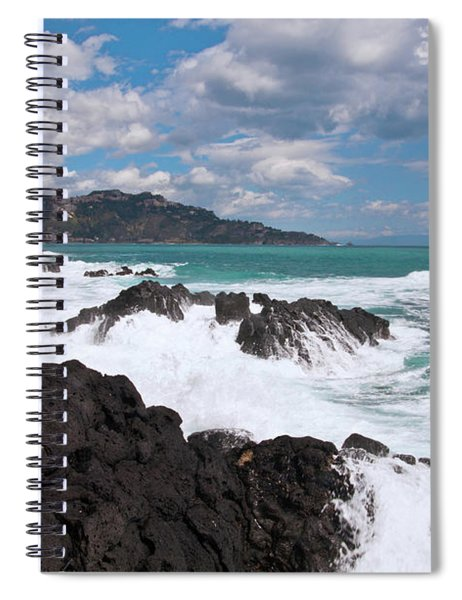Sicilian Stormy Sound Spiral Notebook