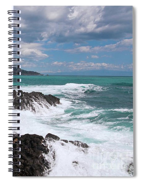 Sicilian Stormy Sound Spiral Notebook