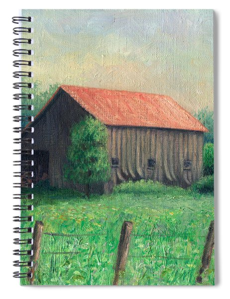 Side Of The Road Spiral Notebook