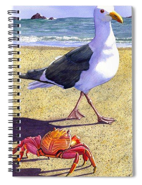 Side Stepping Spiral Notebook