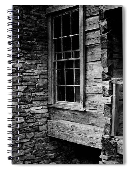 Side View Spiral Notebook