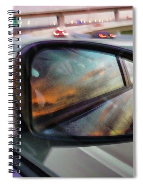Side View Mirror Spiral Notebook