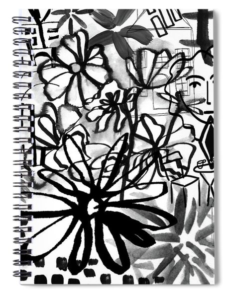 Sightseeing 2- Art By Linda Woods Spiral Notebook