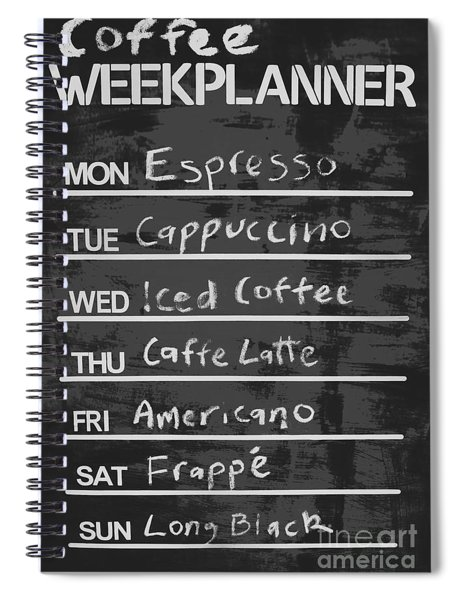 Sign Of A Coffee Lover Spiral Notebook