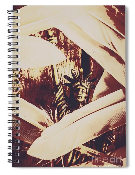 Signing Of The Declaration Of Independence  Spiral Notebook