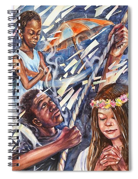 Silence Before The Storm Spiral Notebook