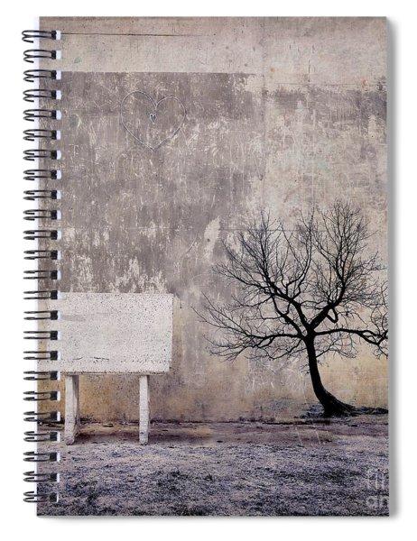 Silence To Chaos - 32e3b Spiral Notebook