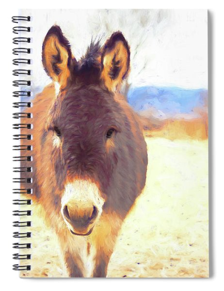 Silent Approach Spiral Notebook