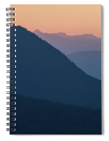Silhouettes At Sunset, No. 2 Spiral Notebook