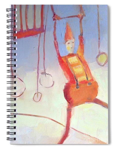 Silly Clown Spiral Notebook