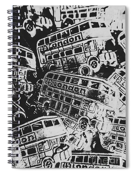 Silver City Spiral Notebook