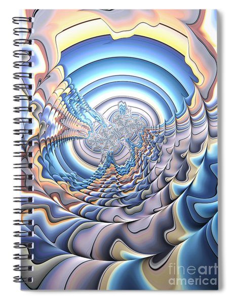 Silver Lining Spiral Notebook