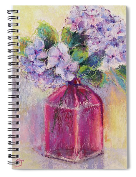 Simple Blessings Spiral Notebook